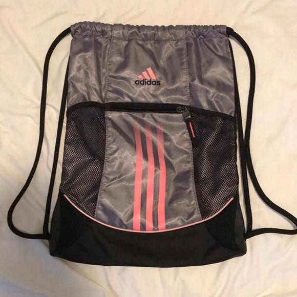fa626de53b5 adidas Bags   Drawstring Bag   Poshmark